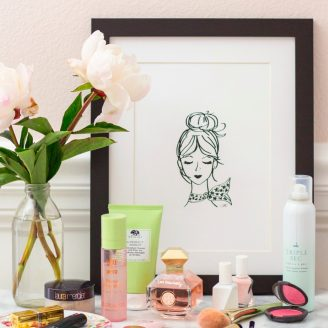 Introducing The French Girl Art Print
