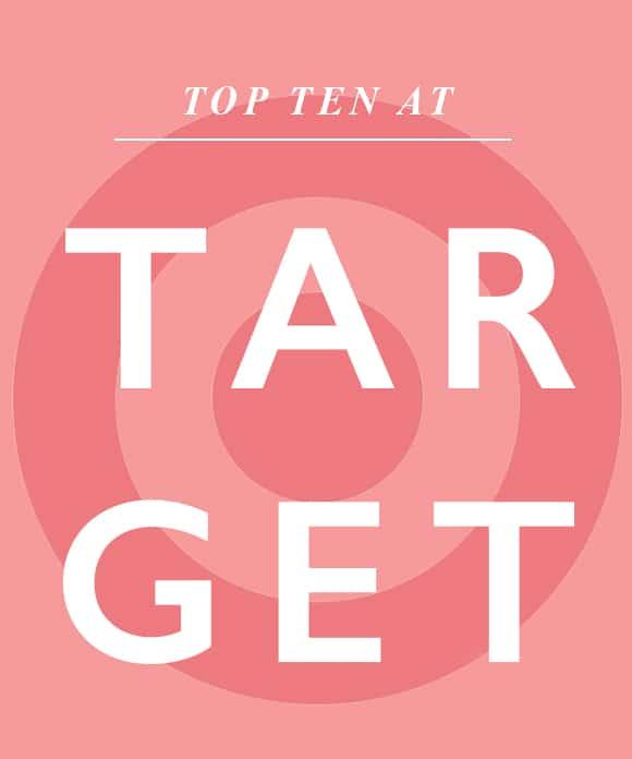 Blogger Ashley Brooke shares her top ten Target favorites for summer! | www.ashleybrookedesigns.com