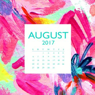 FREE DOWNLOAD + HELLO, August!