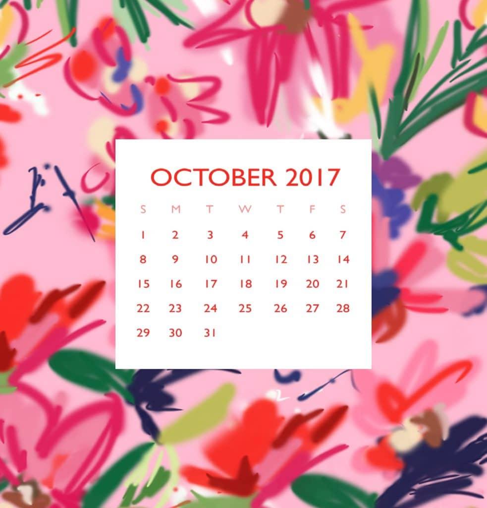 Blogger Ashley Brooke's Free October Download