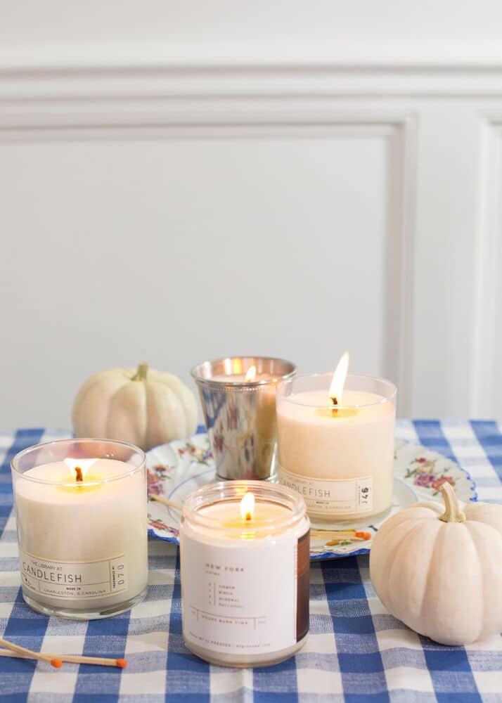 Ashley Brooke's Favorite Fall Candles   www.ashleybrookedesigns.com