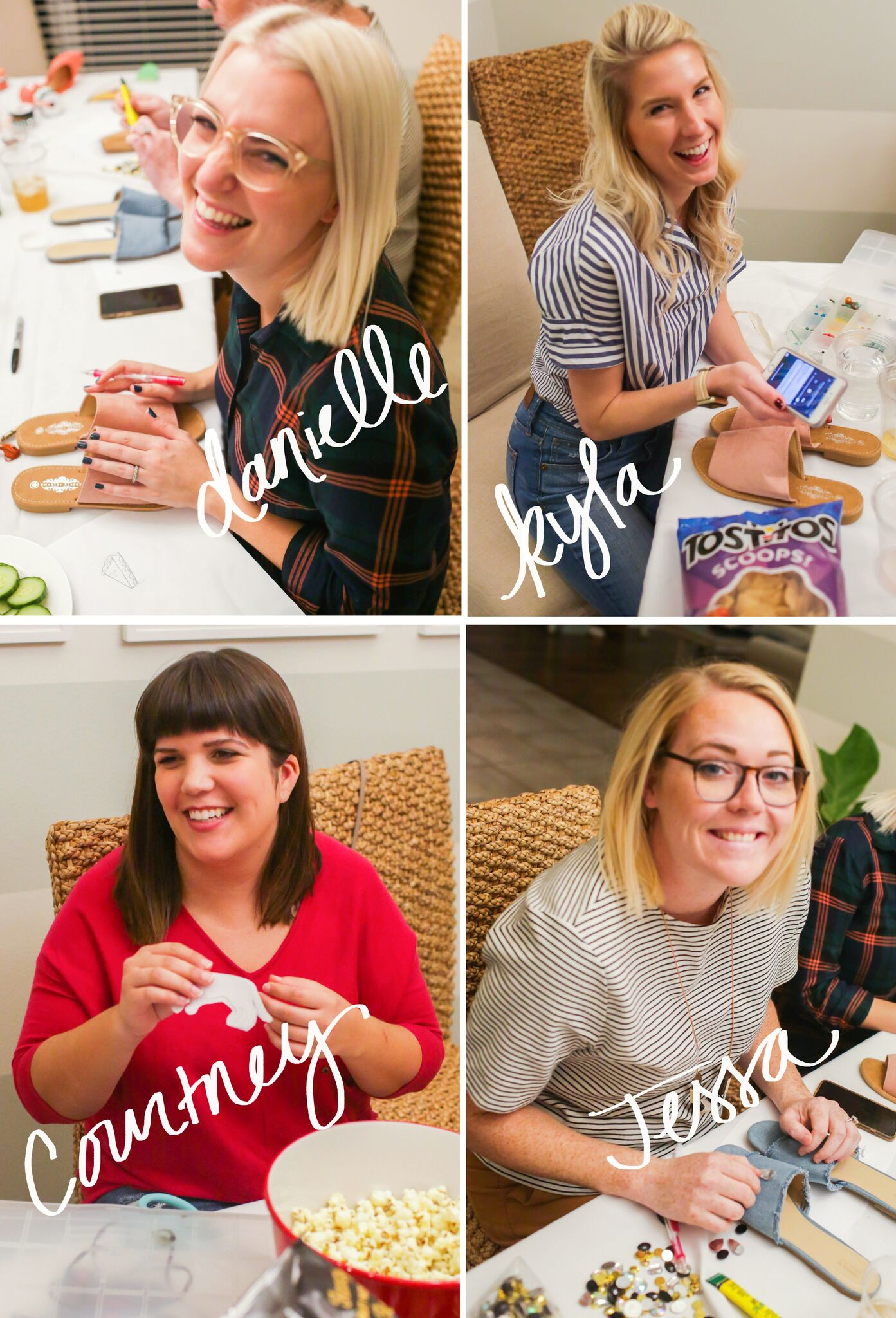 Ashley Brooke - Ideas For a At Home Girl's Craft Night | www.ashleybrookedesgins.com
