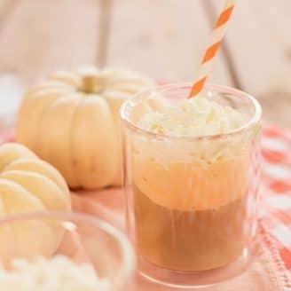 (Spiked) Pumpkin & Coffee Float