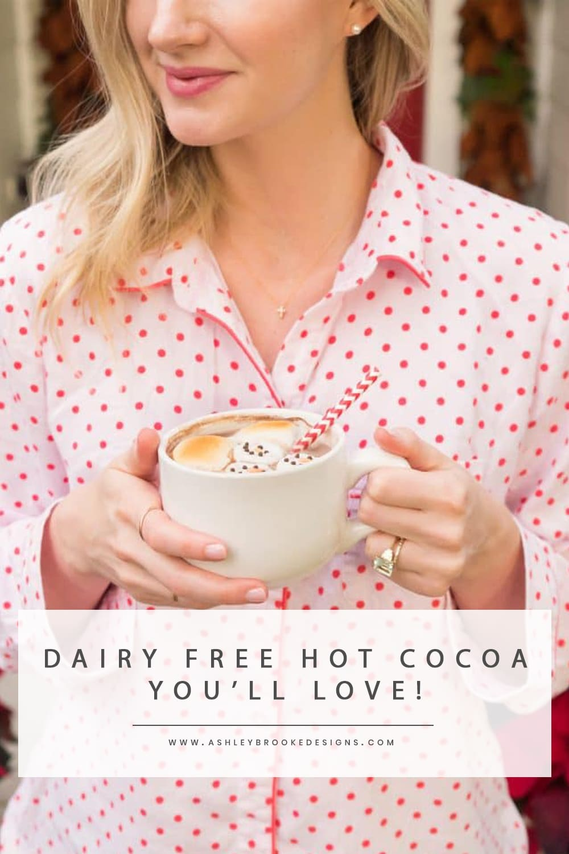 Ashley Brooke's Favorite Go-To Vegan Hot Cocoa Recipe | www.ashleybrookedesigns.com