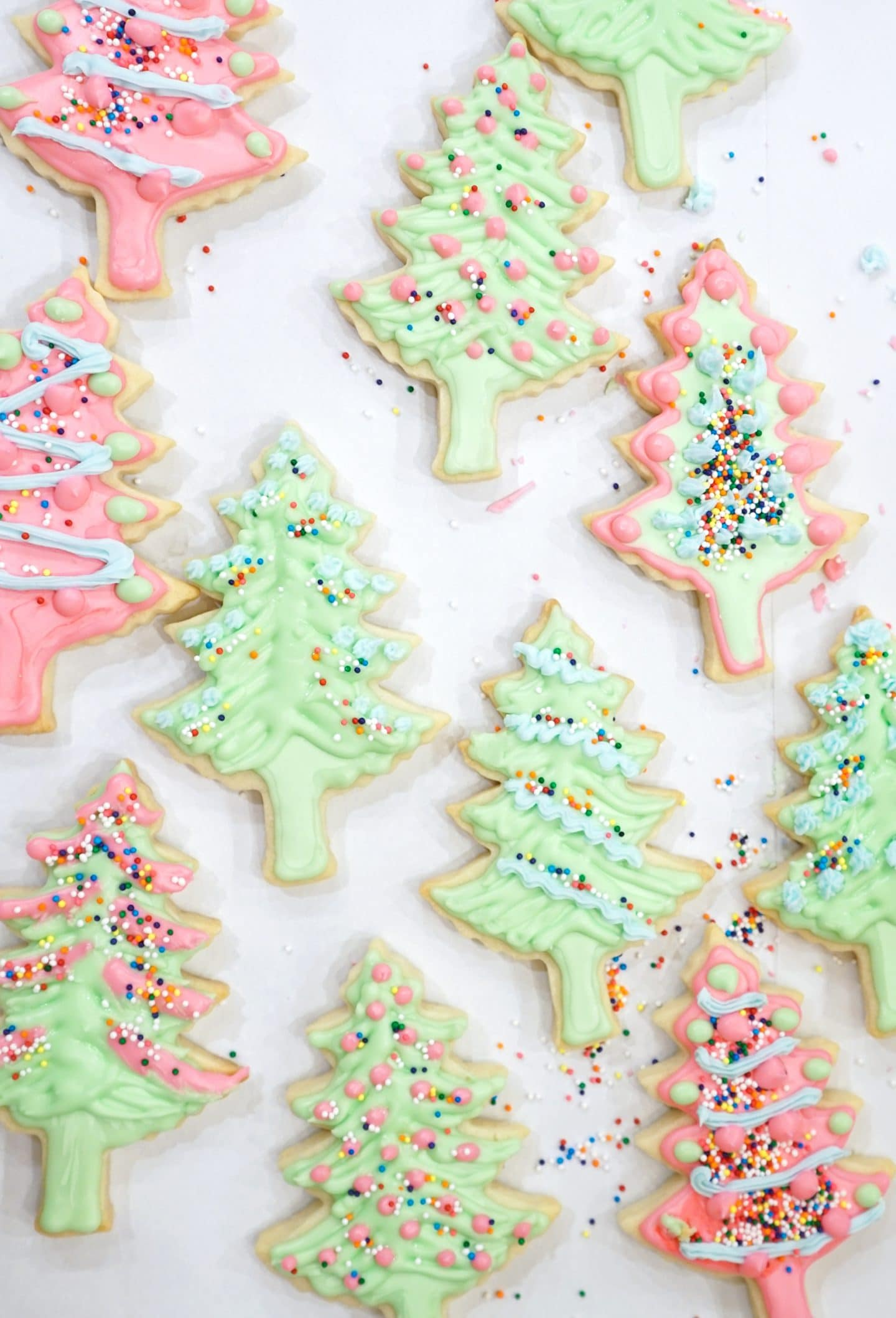 Christmas Cut Out Sugar Cookies Ashley Brooke Designs