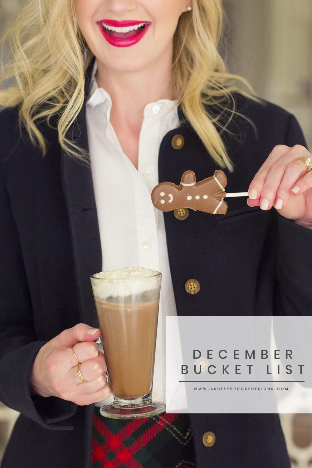 The December Bucket List that will have you feeling festive all month long! | www.ashleybrookedesigns.com