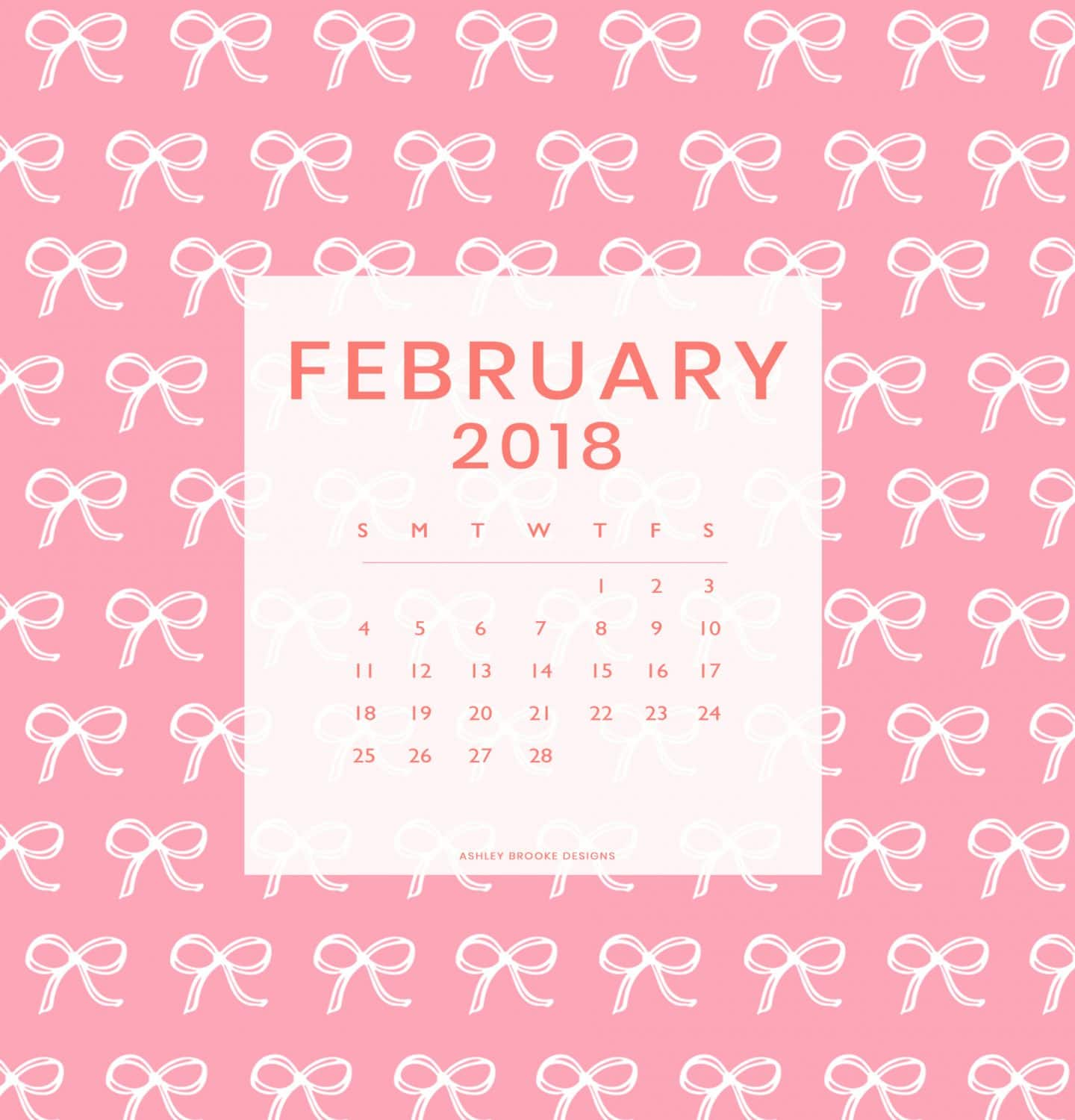 February's Free Download + 14 Days of Galentine's Giveaway!