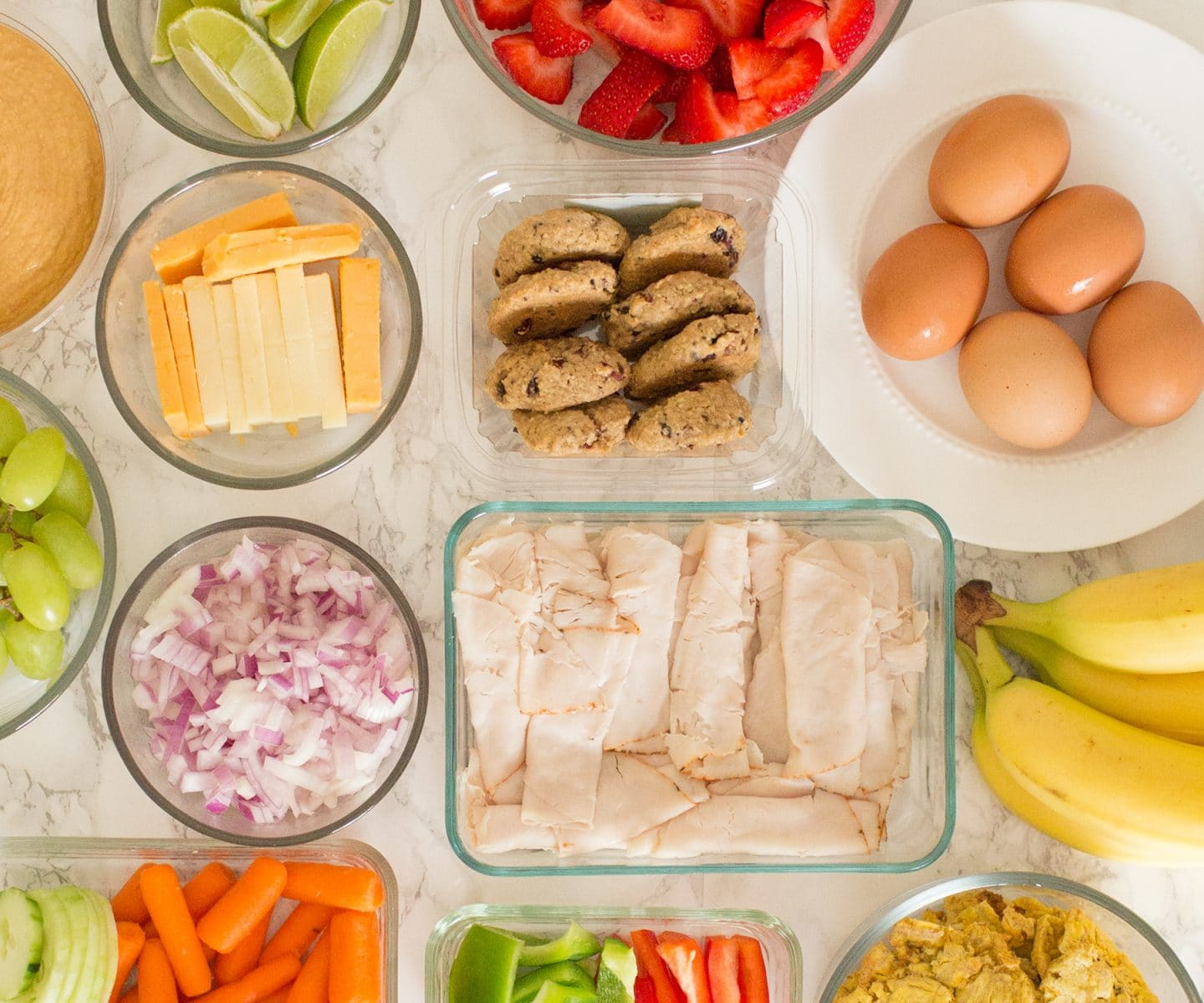 Meal prepping made easy | www.ashleybrookedesigns.com
