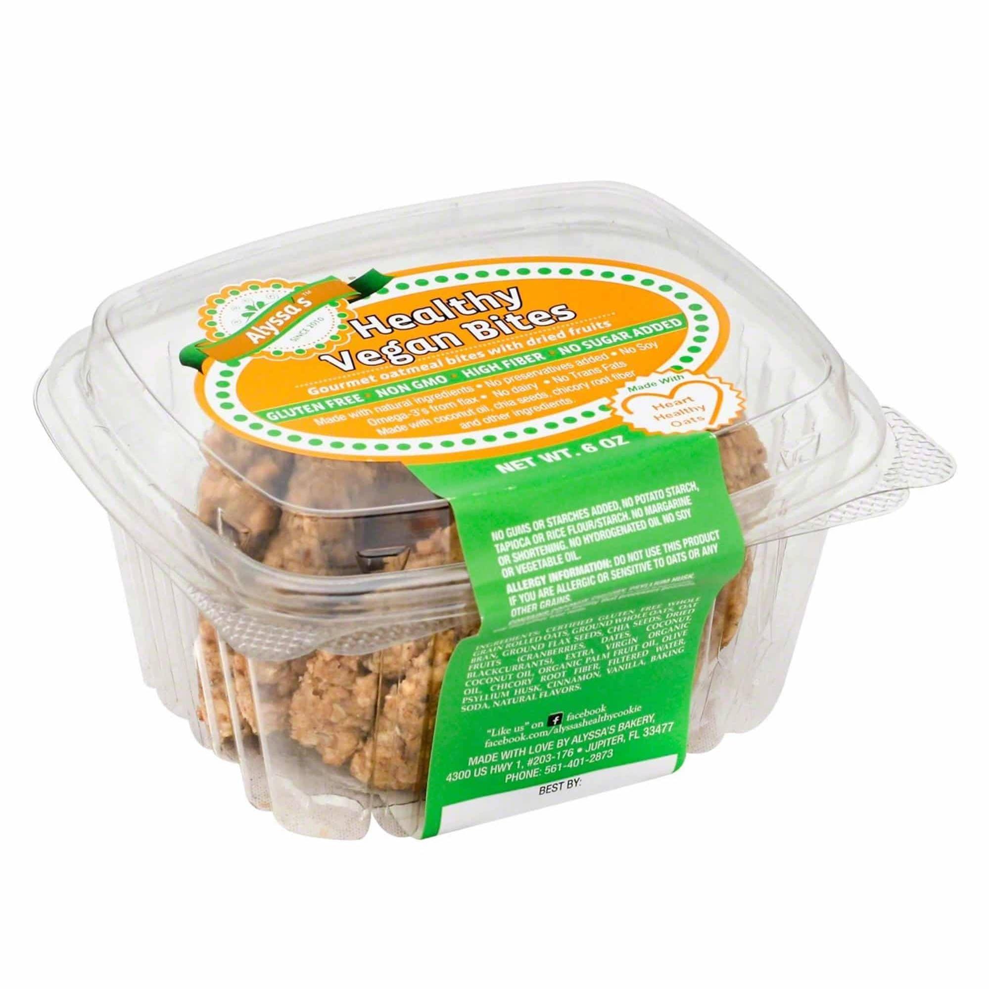 Alyssa's Vegan Cookies | Dairy Free Favorites | www.ashleybrookedesigns.com