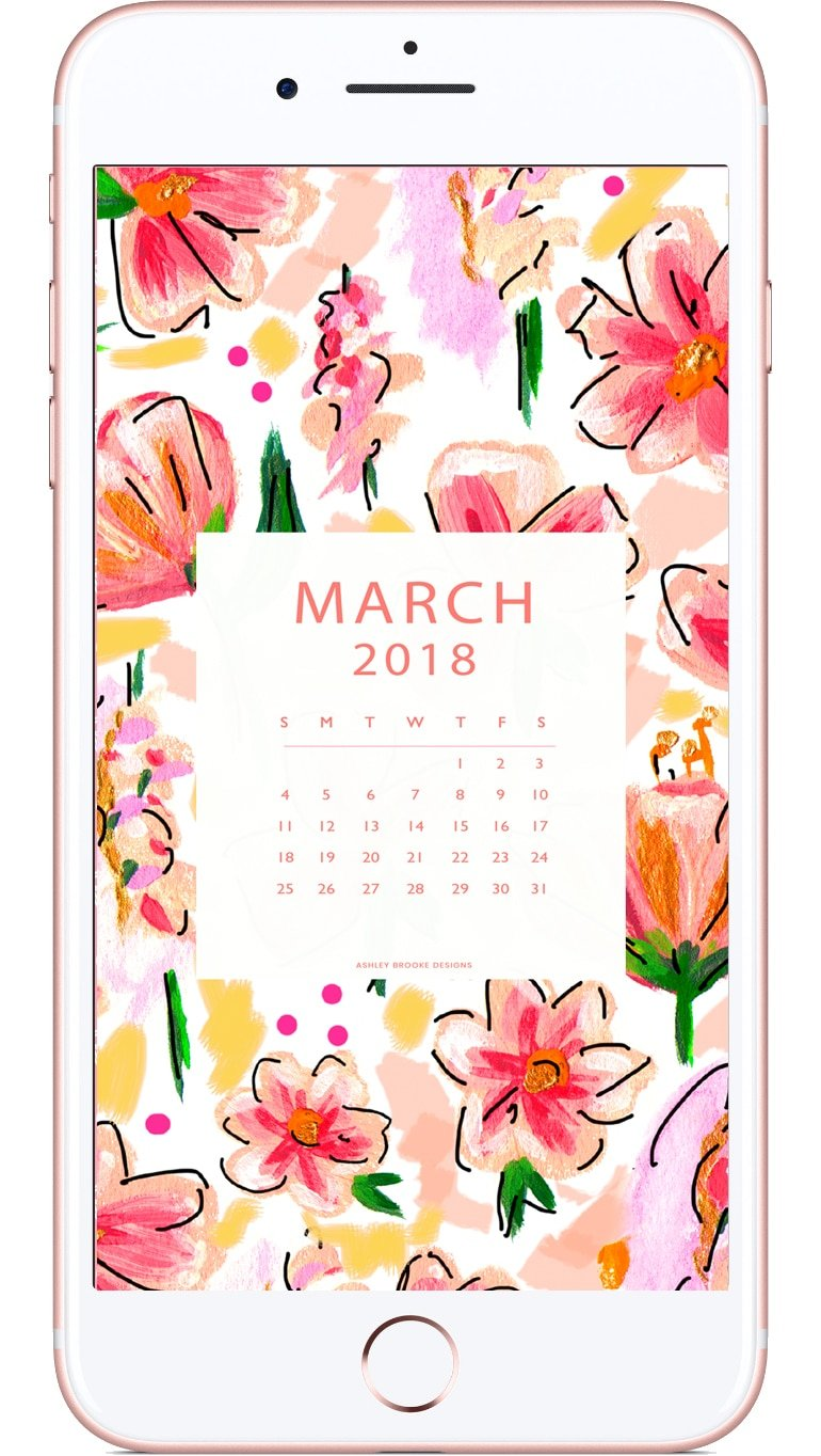 March 2018 Free Download | www.ashleybrookedesigns.com