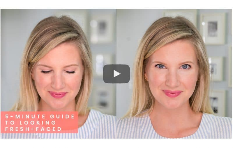 Your 5-Minute Guide To Looking Fresh-Faced This Spring | www.ashleybrookedesigns.com