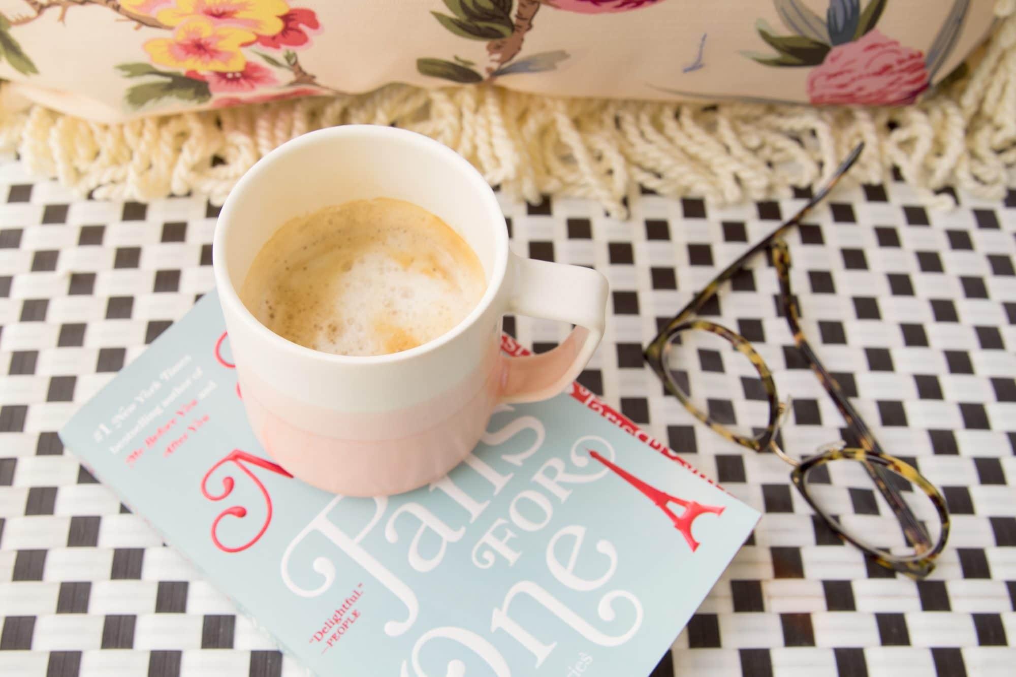 Ashley Brooke Designs - Paper & Clay Coffee Mug - Weekend Reading | www.ashleybrookedesigns.com