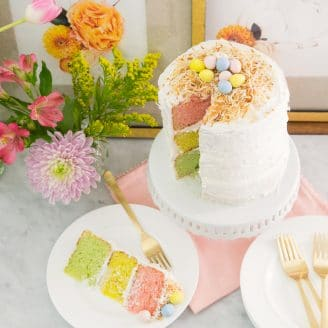 Impress Your Guests With a Pastel Ombre Cake!