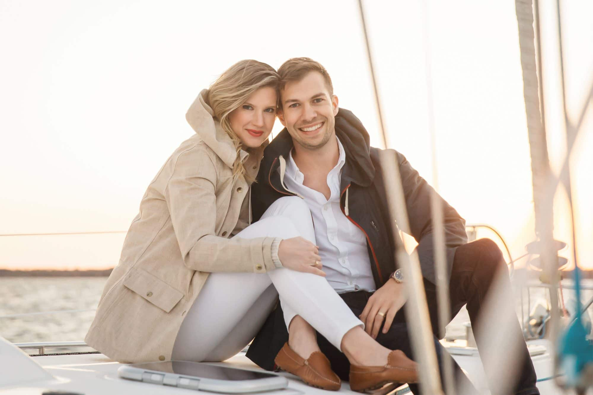Ashley Brooke and husband Ryan Chambers - Charleston, SC - Ashley Brooke Designs