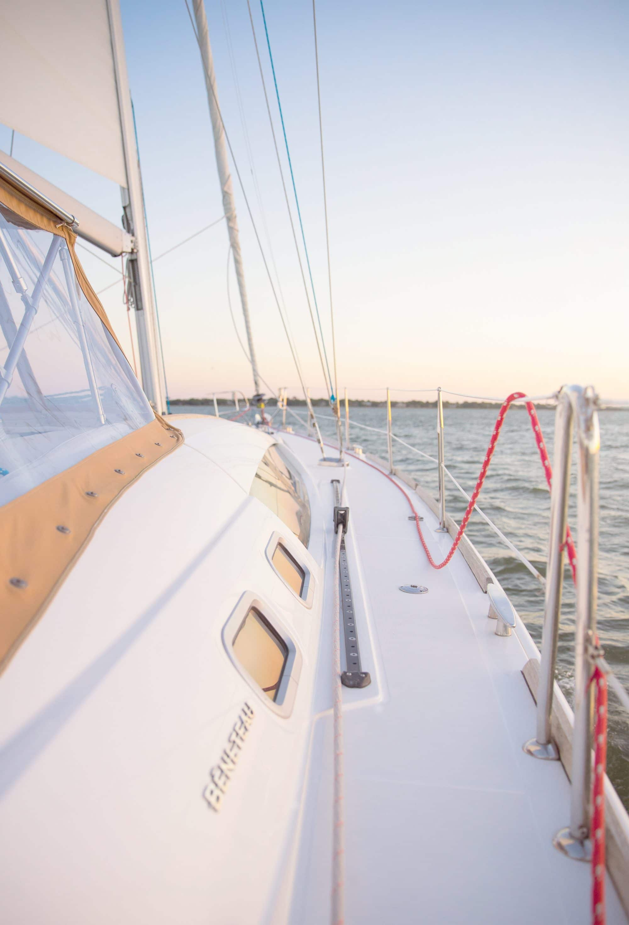 Sail Boat - Charleston, SC - Ashley Brooke Designs