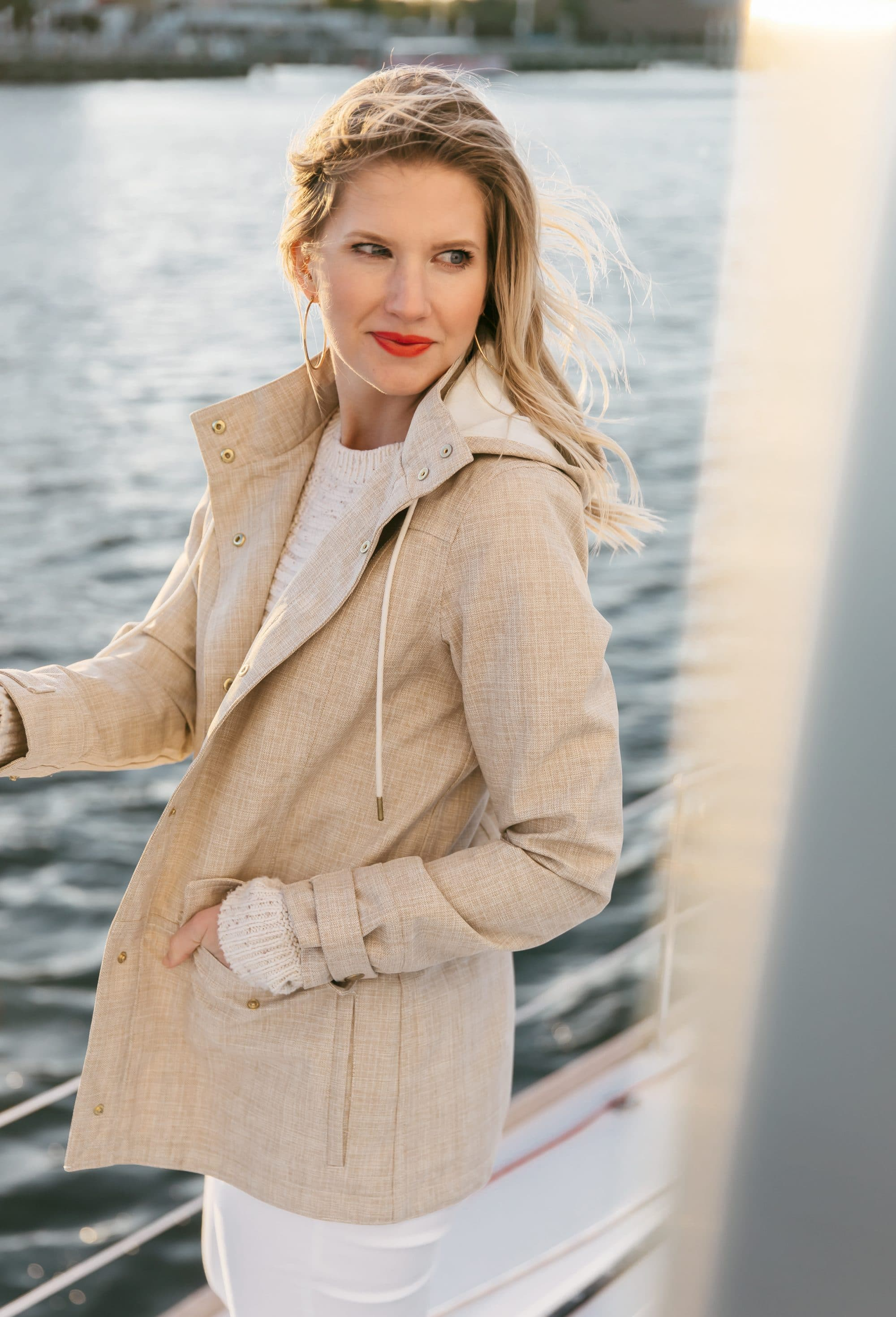 Ashley Brooke on Charleston Sail Boat - Ashley Brooke Designs