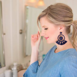 Volumized Ponytail Tutorial (ABD x The Small Things Blog)