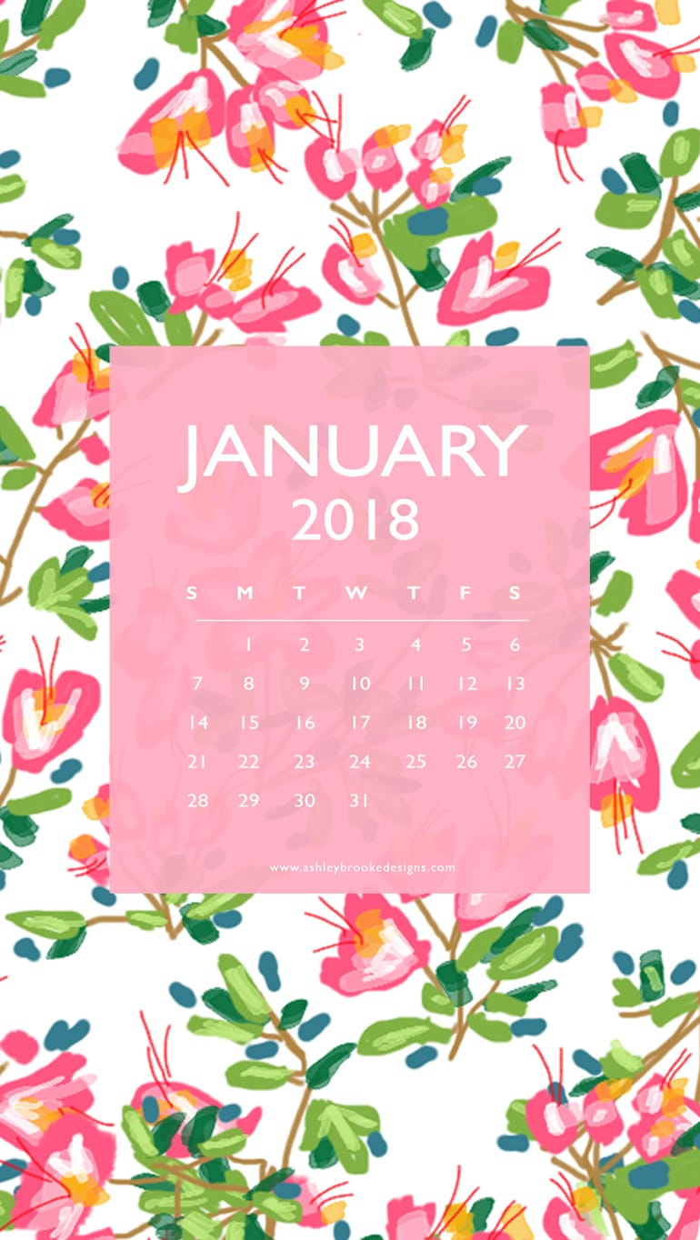 Free Quote and Calendar Downloads - Ashley Brooke Designs