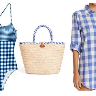 6 Gingham Pieces You Need For Beach Season