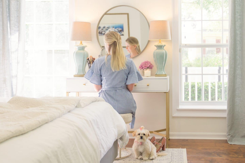 The New Vanity – Master Bedroom Makeover Pt. 2