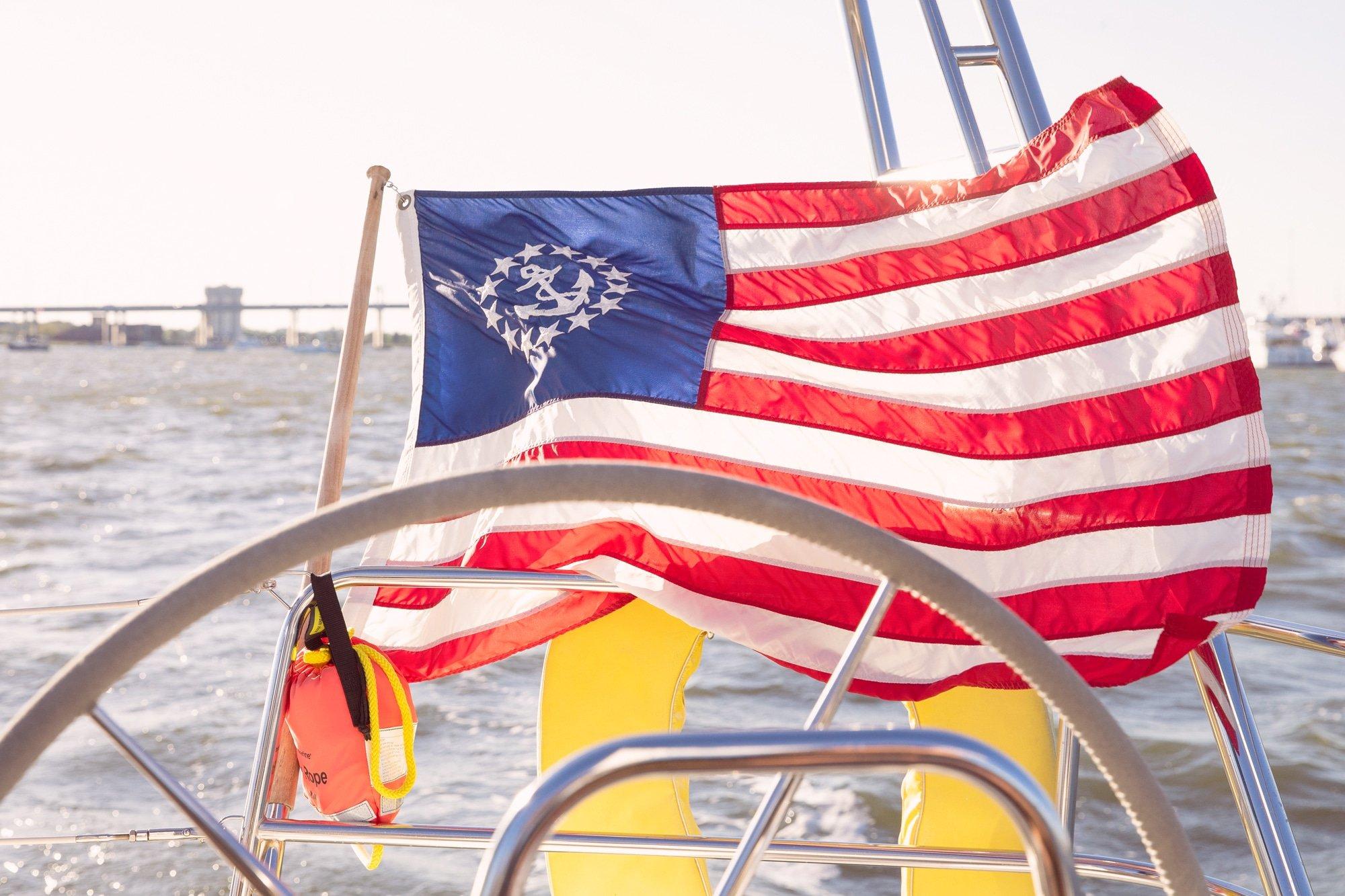 Sailing Flag | www.ashleybrookedesigns.com