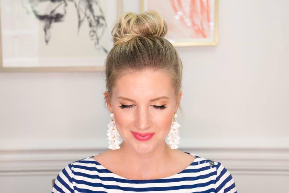 Top Knot Hair Tutorial Video Ashley Brooke Designs