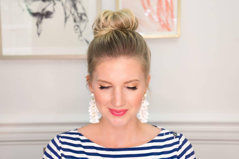 Top Knot Hair Tutorial (Video)