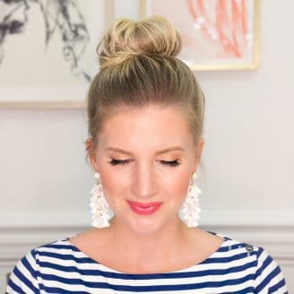 Top Knot Hair Tutorial (Video)