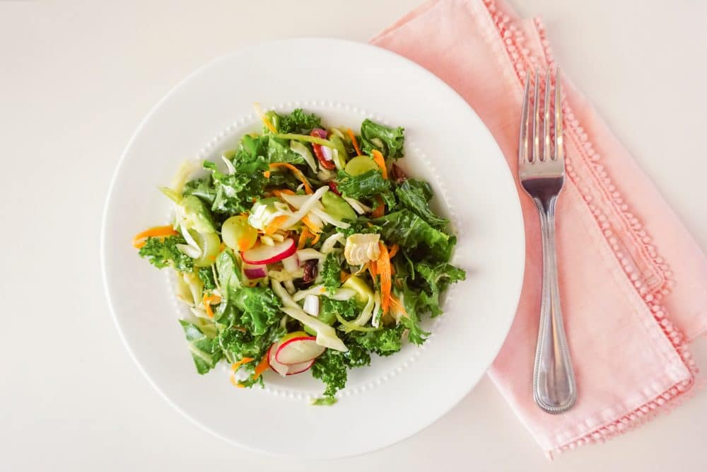Kale Salad with a Twist - Recipe by Ashley Brooke Designs