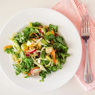 A Fresh Twist on a Kale Salad!