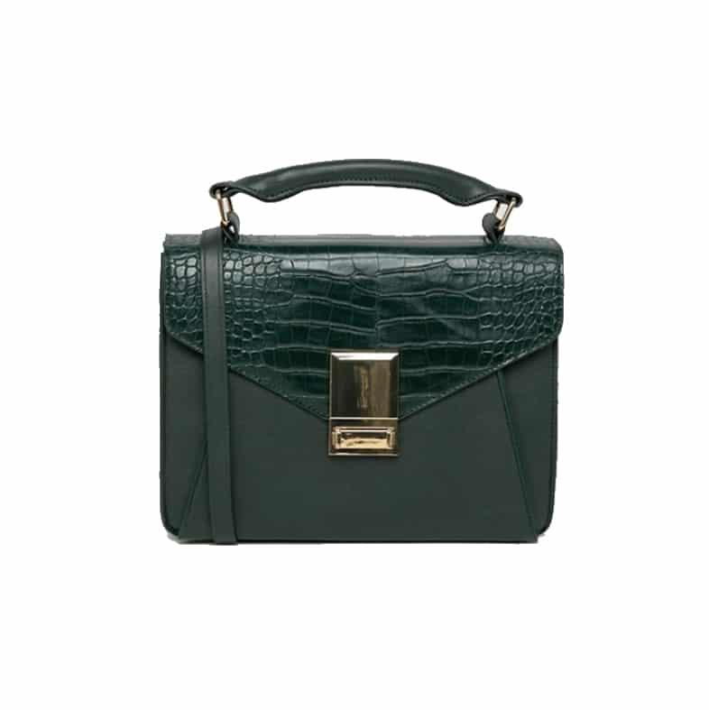 ASOS DESIGN slip pocket satchel | www.ashleybrookedesigns.com