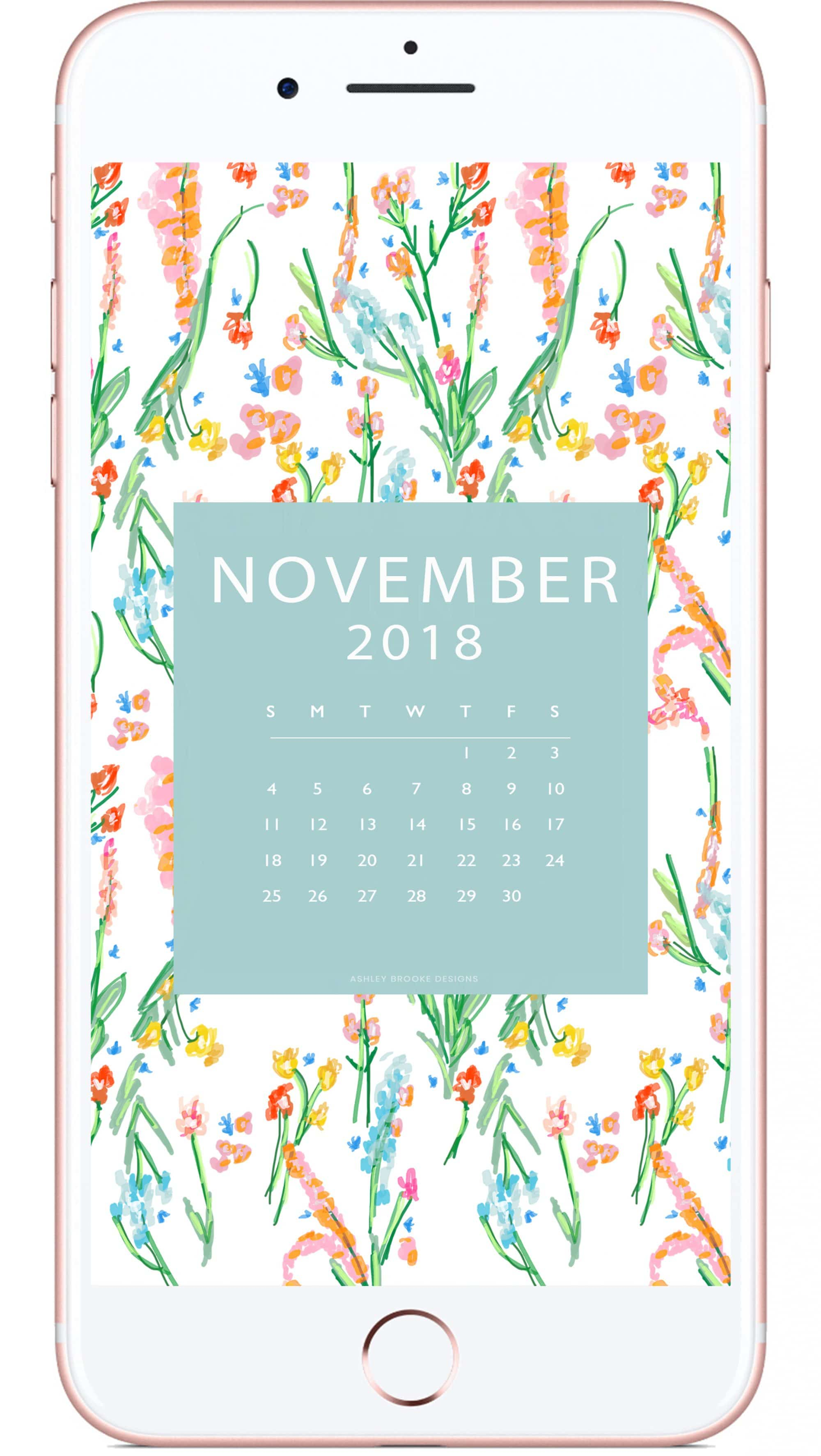 Ashley Brooke - iphone- November Download - phone