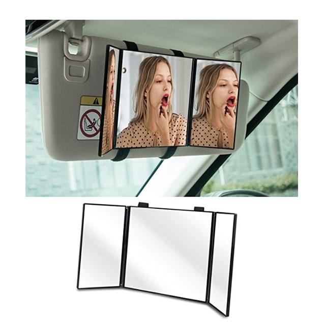 Car Visor Vanity Mirror | www.ashleybrookedesigns.com