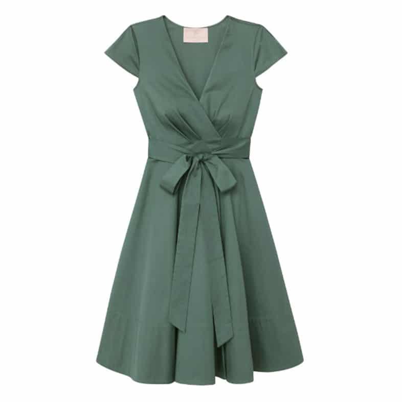 Gal Meets Glam Addison Wrap Dress | www.ashleybrookedesigns.com