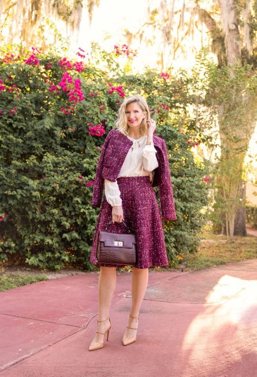 Gal Meets Glam Collection Nell Skirt and Jacket | www.ashleybrookedesigns.com v