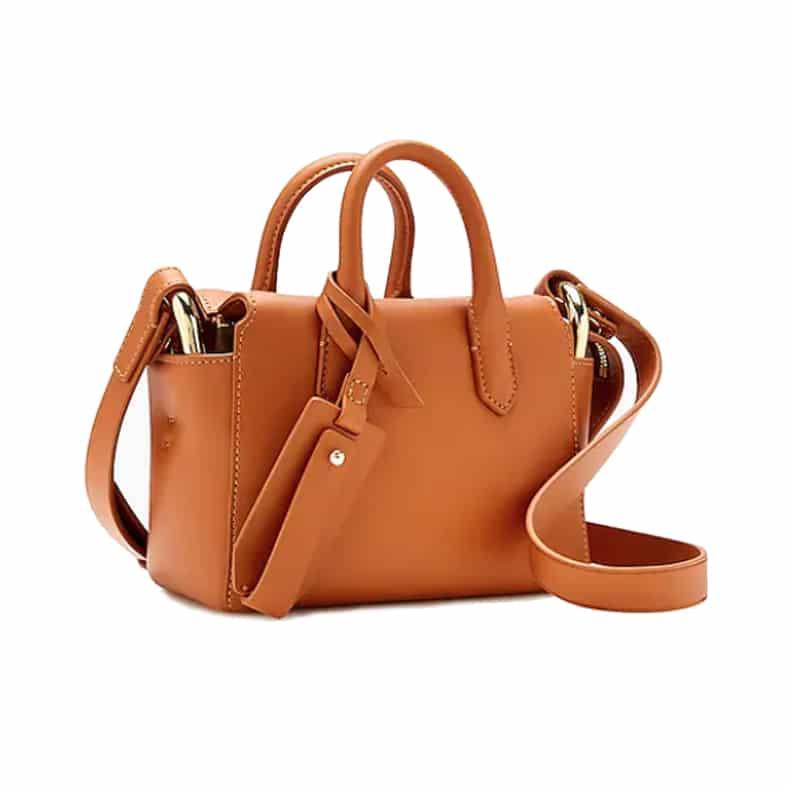 J. Crew The Harper mini satchel in Italian leather | ashleybrookedesigns.com