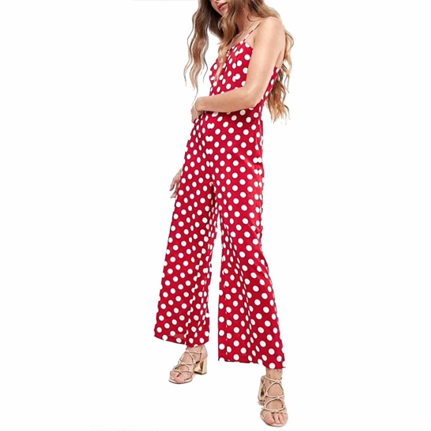 Love & Other Things Polka Dot Jumpsuit | www.ashleybrookedesigns.com