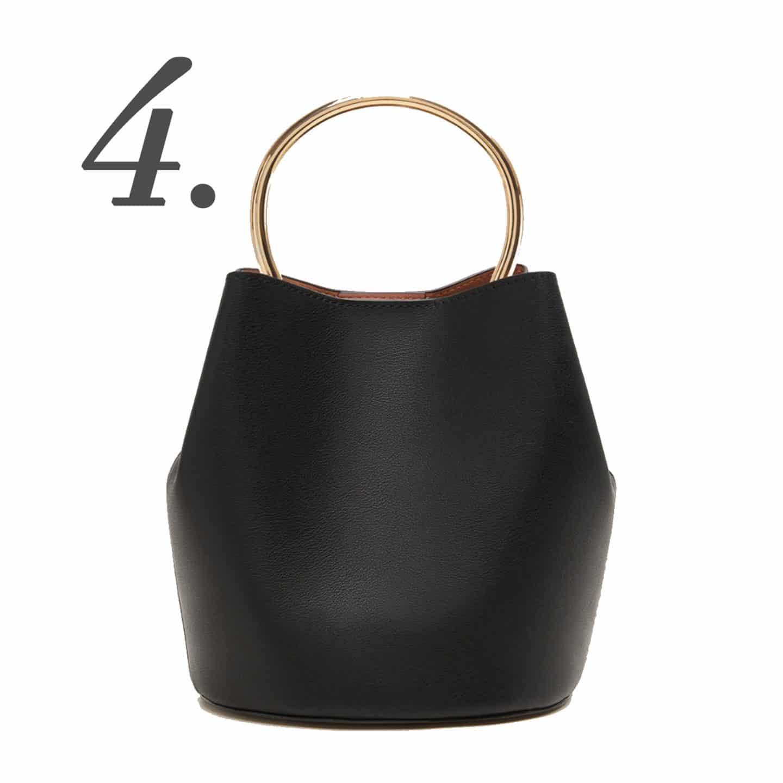 Metallic handle bag | www.ashleybrookedesgins.com