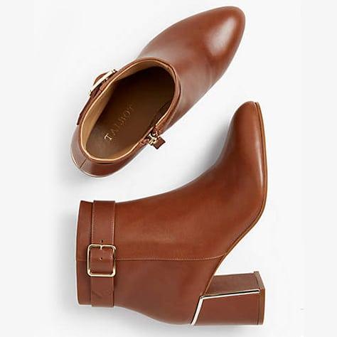 Talbots Simone Flare-Heel Ankle Boots | www.ashleybrookedesigns.com