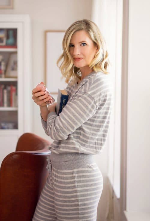 Striped Pajamas Set www.ashleybrookedesigns.com