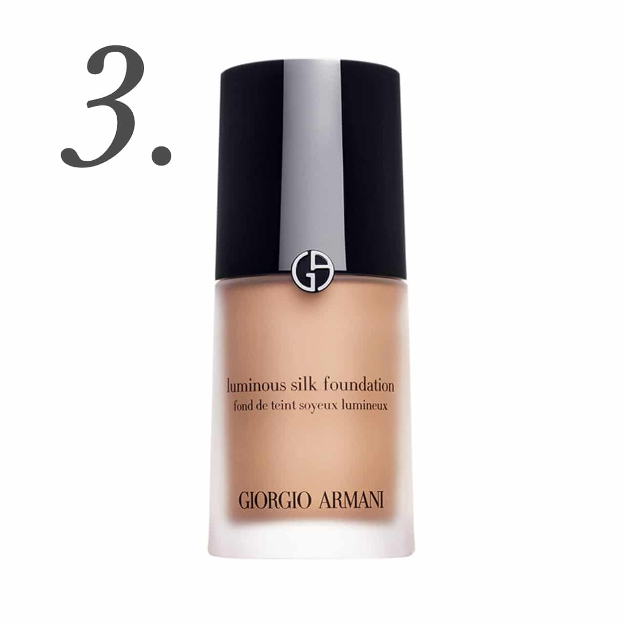 Giorgio Armani Luminous Silk Foundation | www.ashleybrookedesigns.com