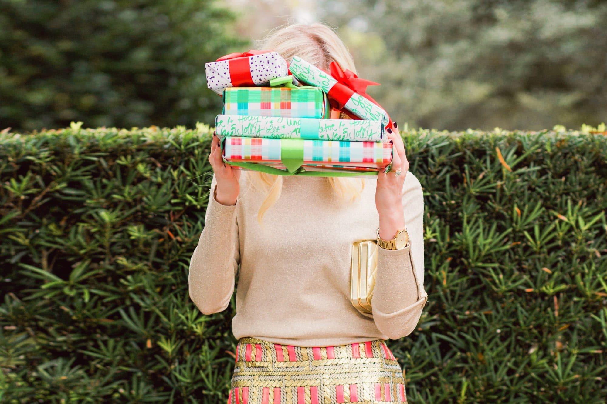 Gift Tracker Spreadsheet - Ashley Brooke Designs @ashleybrooke