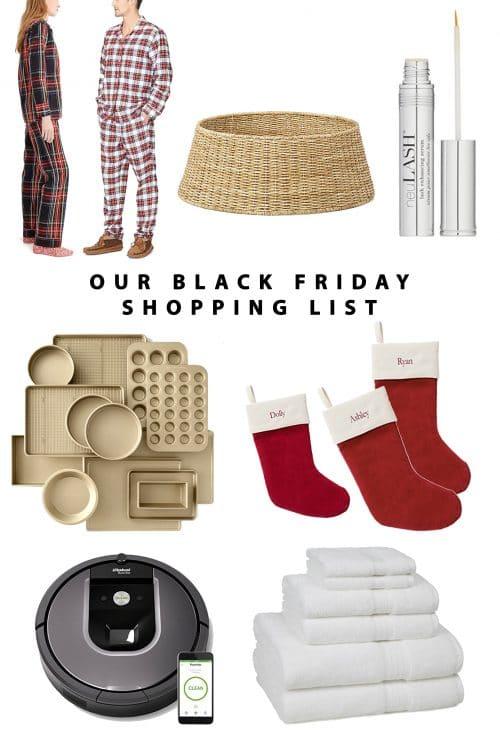 Our Black Friday Shopping List V