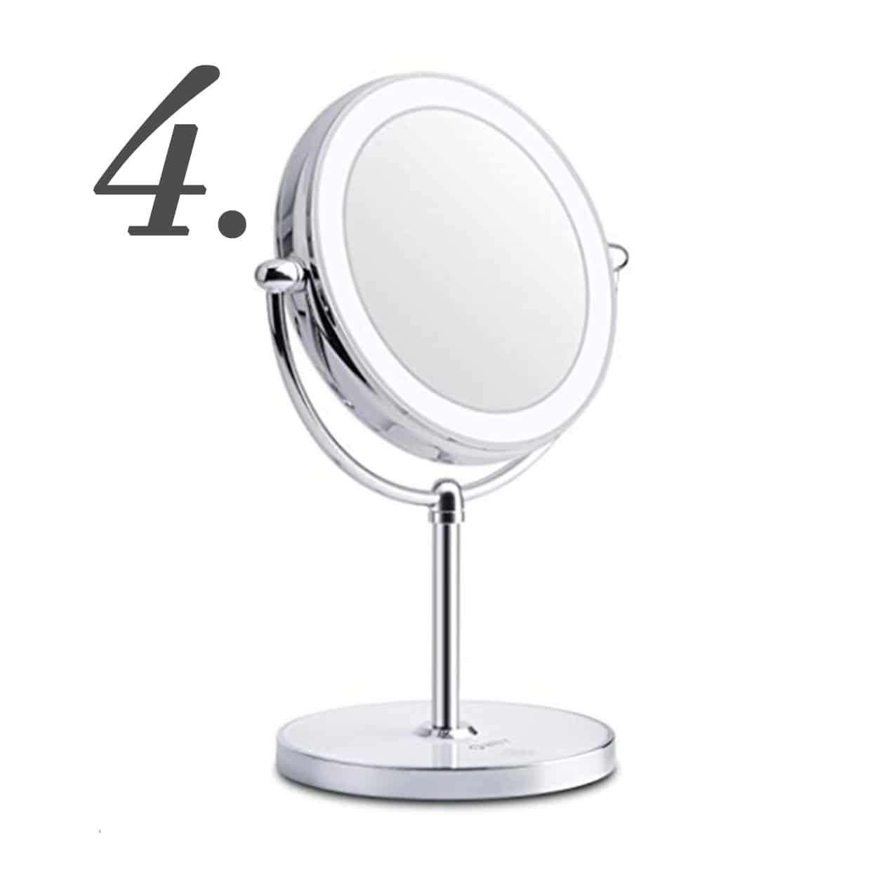 Lighted Makeup Mirror | www.ashleybrookedesigns.com