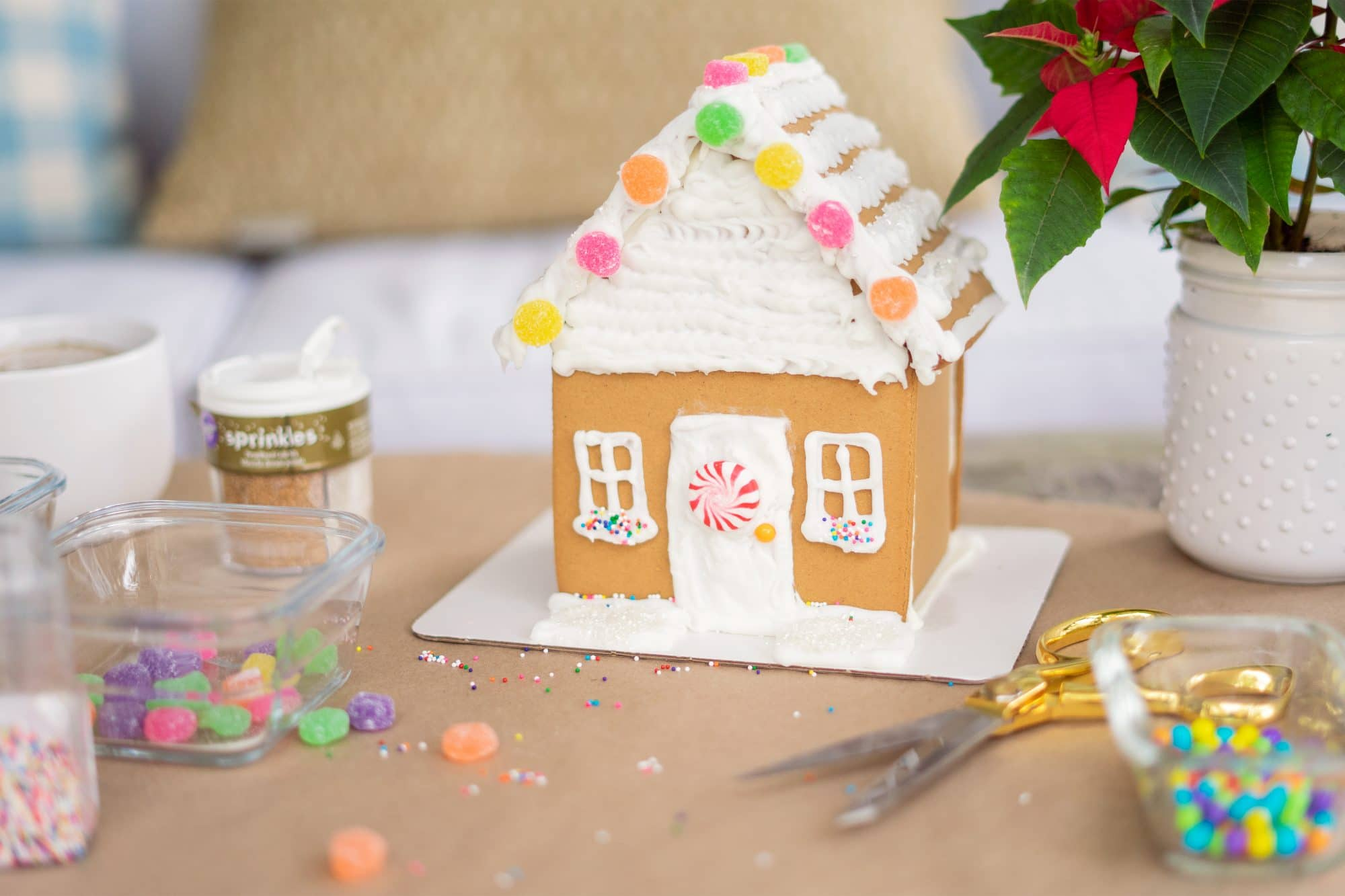 Gingerbread House | www.ashleybrookedesigns.com h
