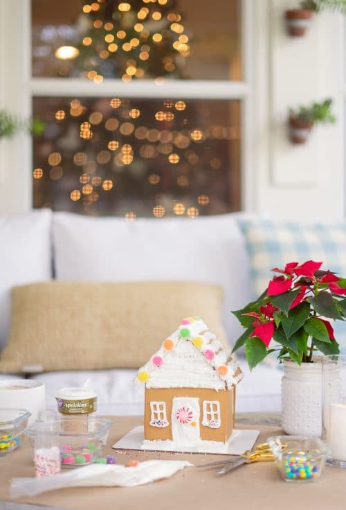 Gingerbread House | www.ashleybrookedesigns.com