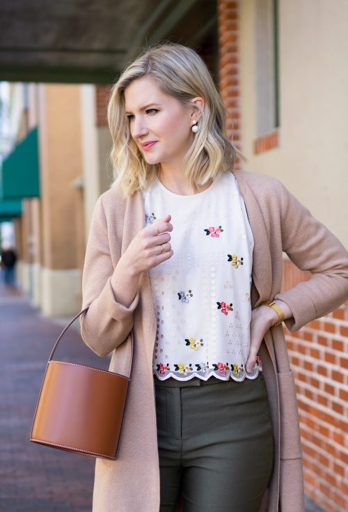 Anthropologie Sahil Kochhar Dylan Embroidered Top | www.ashleybrookedesigns.com