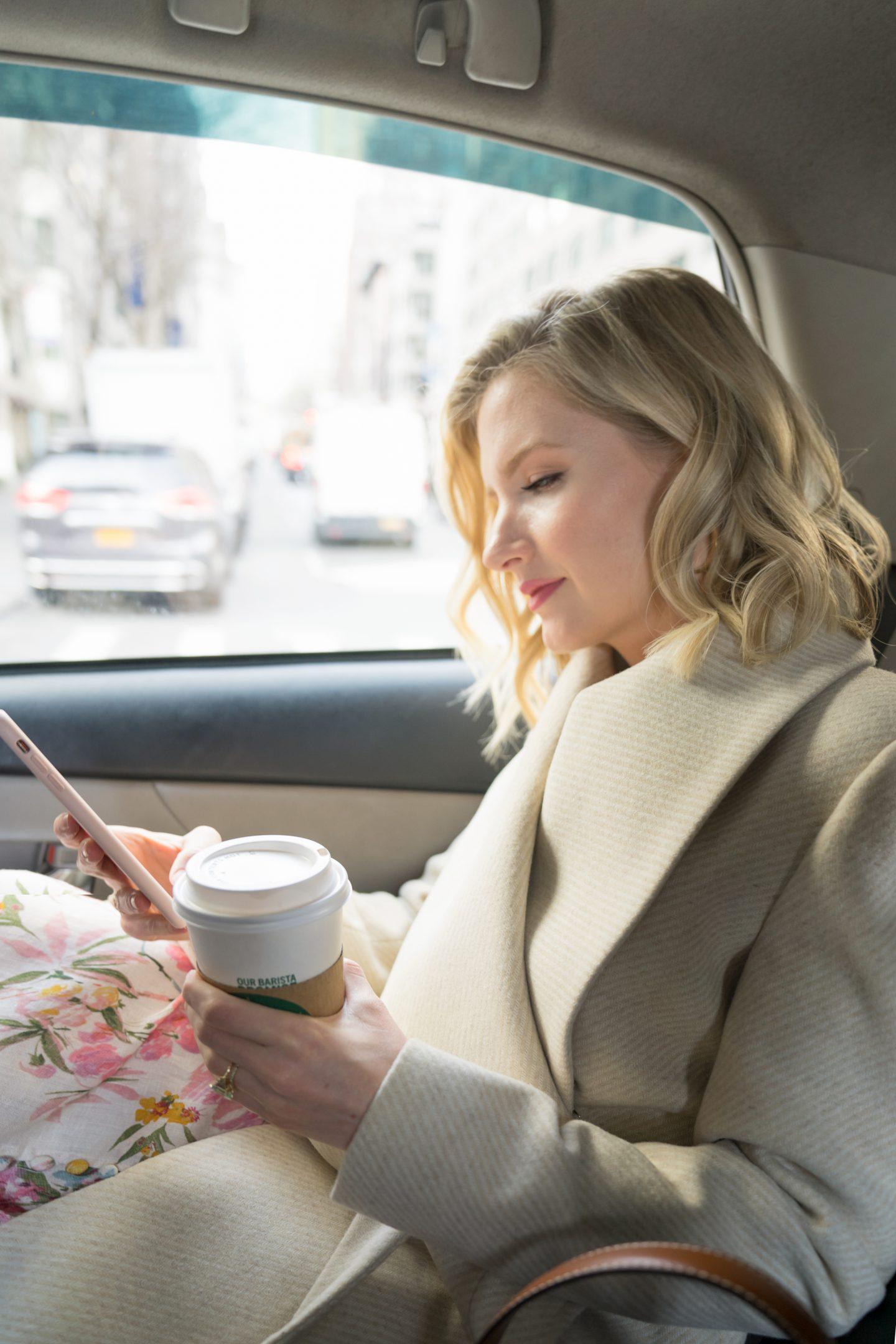 Ashley Brooke on commute in NYC @ashleybrooke - Ashley Brooke Designs