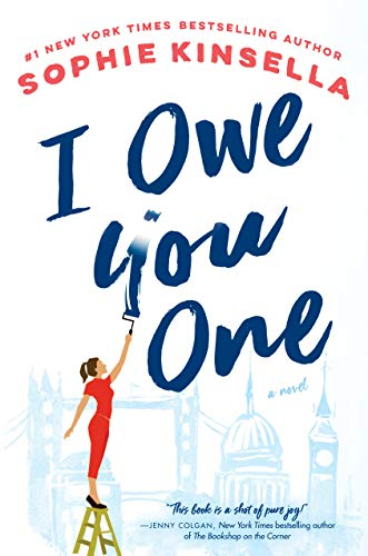 I Owe You One by Sophie Kinsella on the Ashley Brooke Book Club