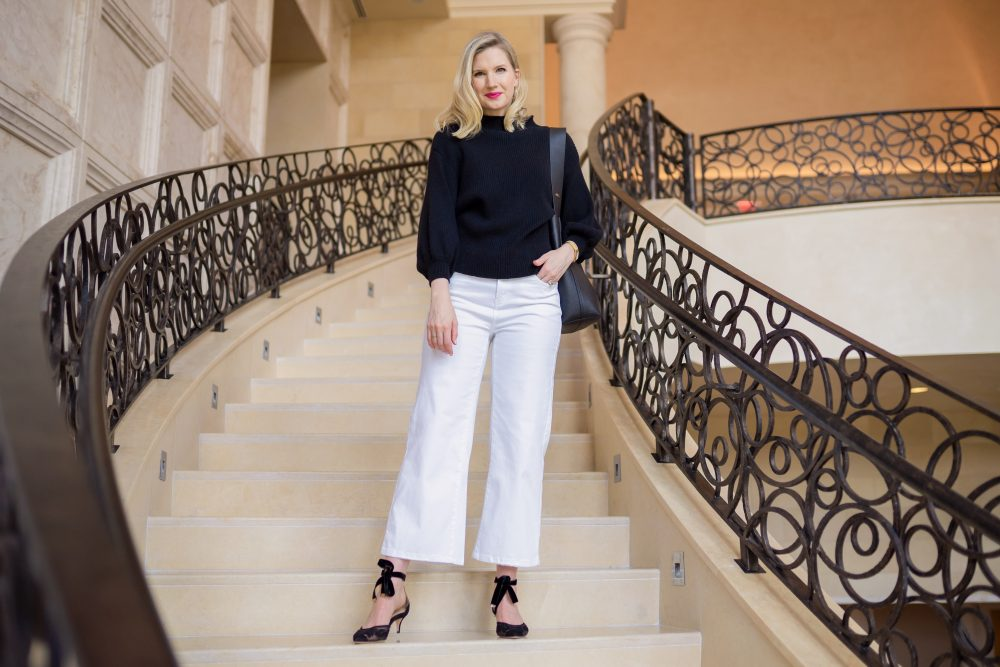 Ashley Brooke - Black and White Look - Marion Parke Shoes - 8